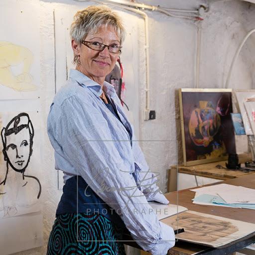 portrait in atelier - 1