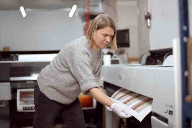 The Print Space process